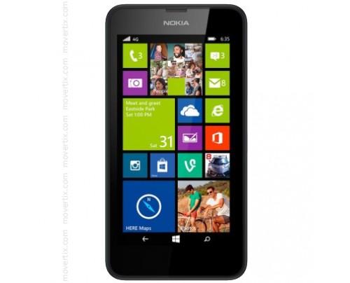 Nokia Lumia 635 en Negro
