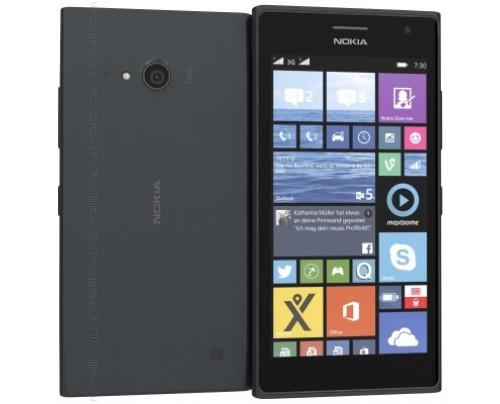 Nokia Lumia 730 dual SIM en Gris