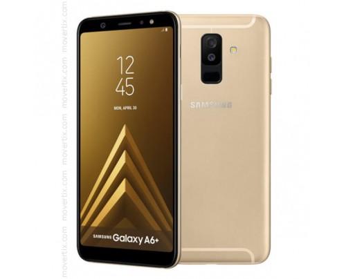 Samsung Galaxy A6 Plus (2018) en Oro de 32GB y 3GB RAM