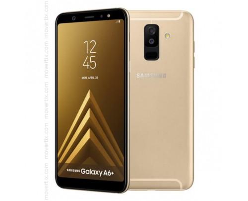 Samsung Galaxy A6 Plus (2018) Dual SIM en Oro de 32GB y 3GB RAM