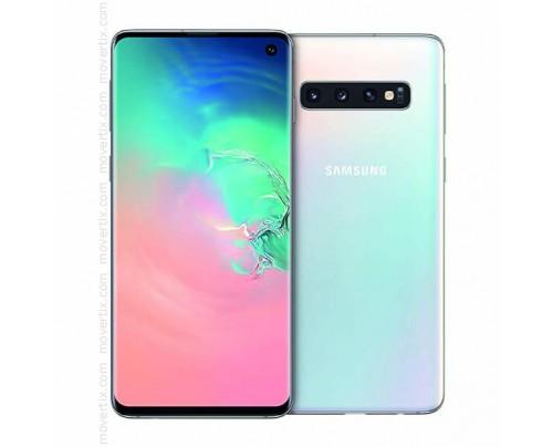 Samsung Galaxy S10 Dual SIM en Blanco de 128GB y 8GB RAM (SM-G973F/DS)
