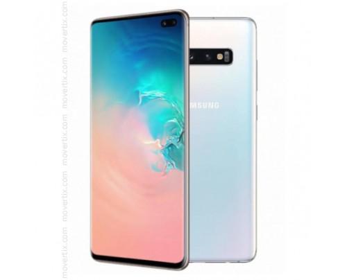 Samsung Galaxy S10 Plus Dual SIM en Blanco de 128GB y 8GB RAM (SM-G975F/DS)