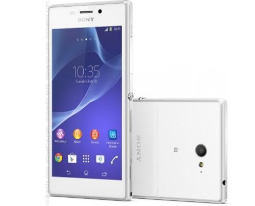 Sony Xperia M2 in Bianco