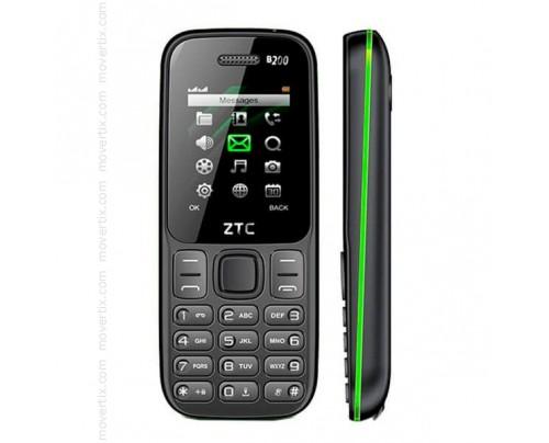 ZTC B200 Dual SIM en Negro y Verde