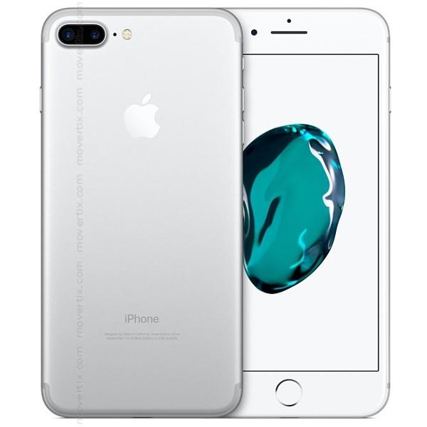 apple iphone 7 plus argent avec 128go 0190198044082. Black Bedroom Furniture Sets. Home Design Ideas