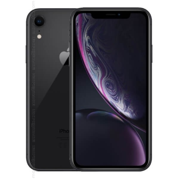 apple iphone xr noir avec 128go 0190198772541 movertix t l phones mobiles et smartphones. Black Bedroom Furniture Sets. Home Design Ideas