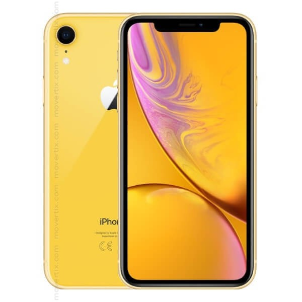 apple iphone xr jaune avec 128go 0190198773678 movertix t l phones mobiles et smartphones. Black Bedroom Furniture Sets. Home Design Ideas