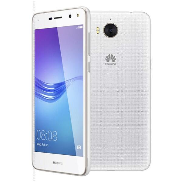 Huawei y6 2017 dual sim white 6901443175499 movertix for Housse huawei y6 2017