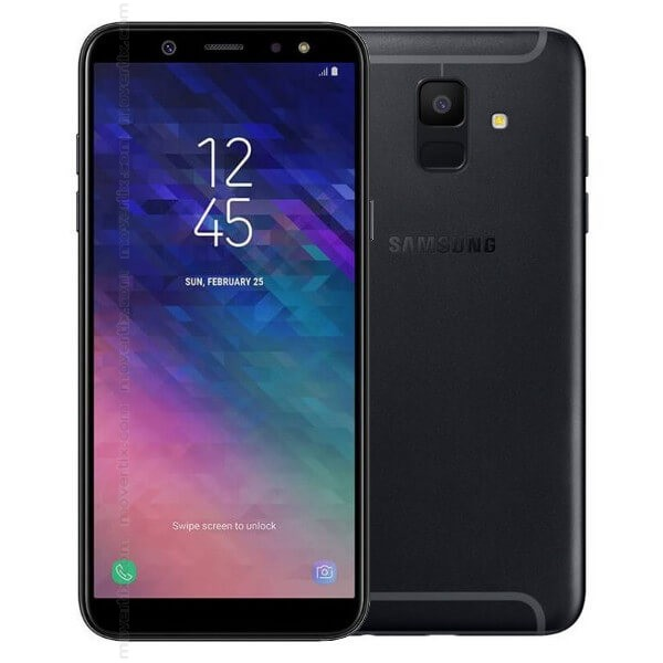 samsung galaxy a6 2018 black 32gb and 3gb ram. Black Bedroom Furniture Sets. Home Design Ideas