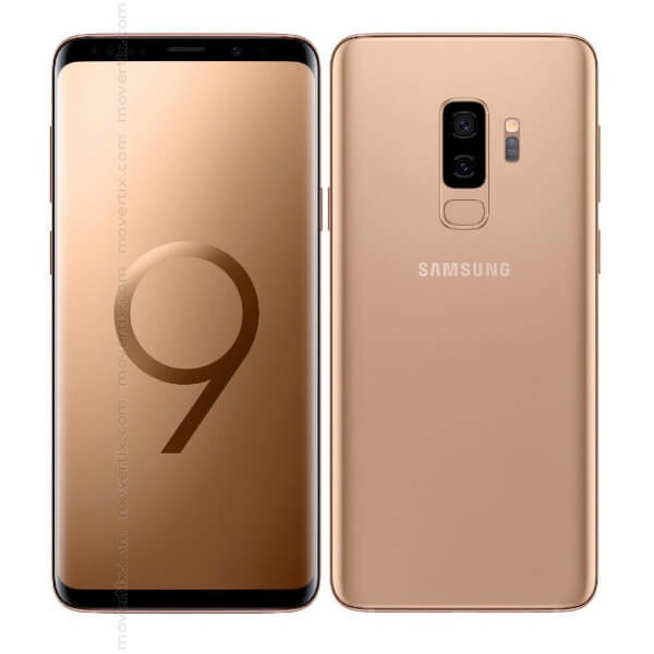 comprar samsung s9 plus golden
