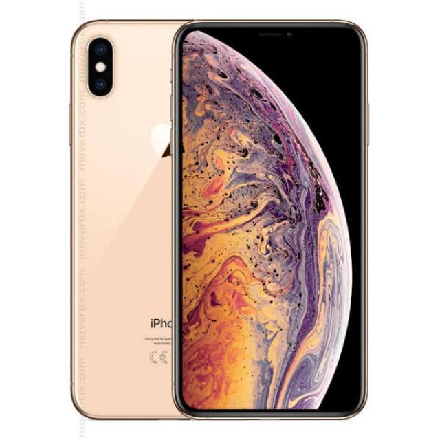 Apple Iphone Xs Max Gold 256gb 0190198784872 Movertix Mobile Phones Shop
