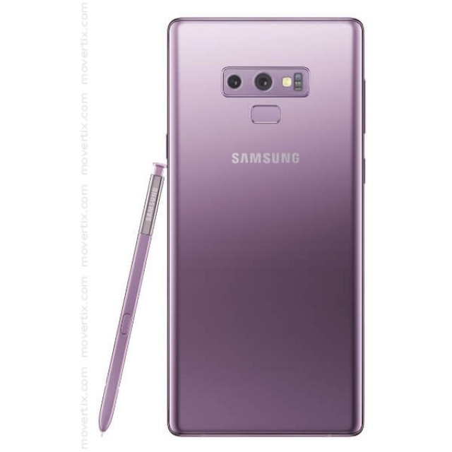 Samsung Galaxy Note 9 Lavender Purple 128GB and 6GB RAM (SM-N960F)