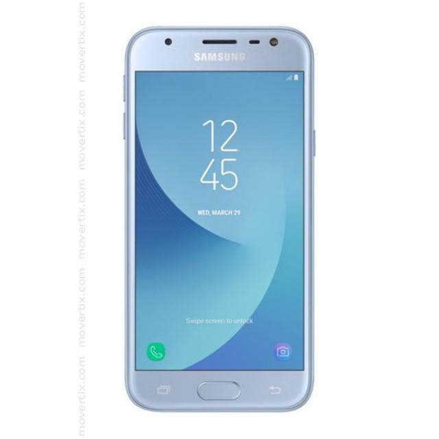 samsung galaxy j3 2017 double sim bleu sm j330f 8806088925127 movertix t l phones. Black Bedroom Furniture Sets. Home Design Ideas
