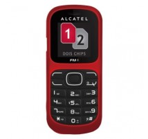 Alcatel One Touch 217D en Rojo