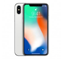 Apple iPhone X in Argento di 256GB