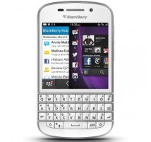 Blackberry Q10 QWERTZ in Bianco