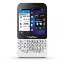 Blackberry Q5 in Bianco