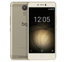 BQ Aquaris U Branco e Dourado de 16GB e 2GB RAM