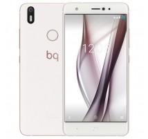 Bq Aquaris X in Weiß und Rosa mit 32GB und 3GB RAM