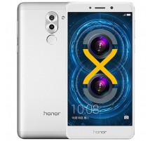 Honor 6X Dual SIM in Argento di 32GB e 3GB RAM