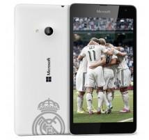 Microsoft Lumia 535 Dual SIM en Blanco edición Real Madrid