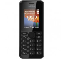 Nokia 108 dual SIM en Negro