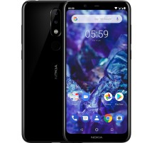 Nokia 5.1 Plus Dual SIM in Nero da 32GB e 3GB RAM