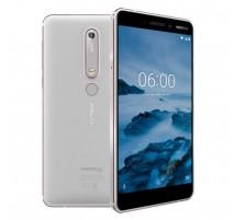Nokia 6.1 (2018) Dual SIM in Weiß mit 32GB und 3GB RAM