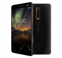 Nokia 6.1 (2018) Dual SIM in Schwarz mit 32GB und 3GB RAM