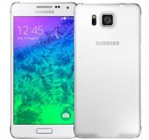 Samsung Galaxy Alpha G850F en Blanco