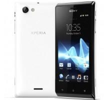 Sony Xperia J en Blanco (ST26i)
