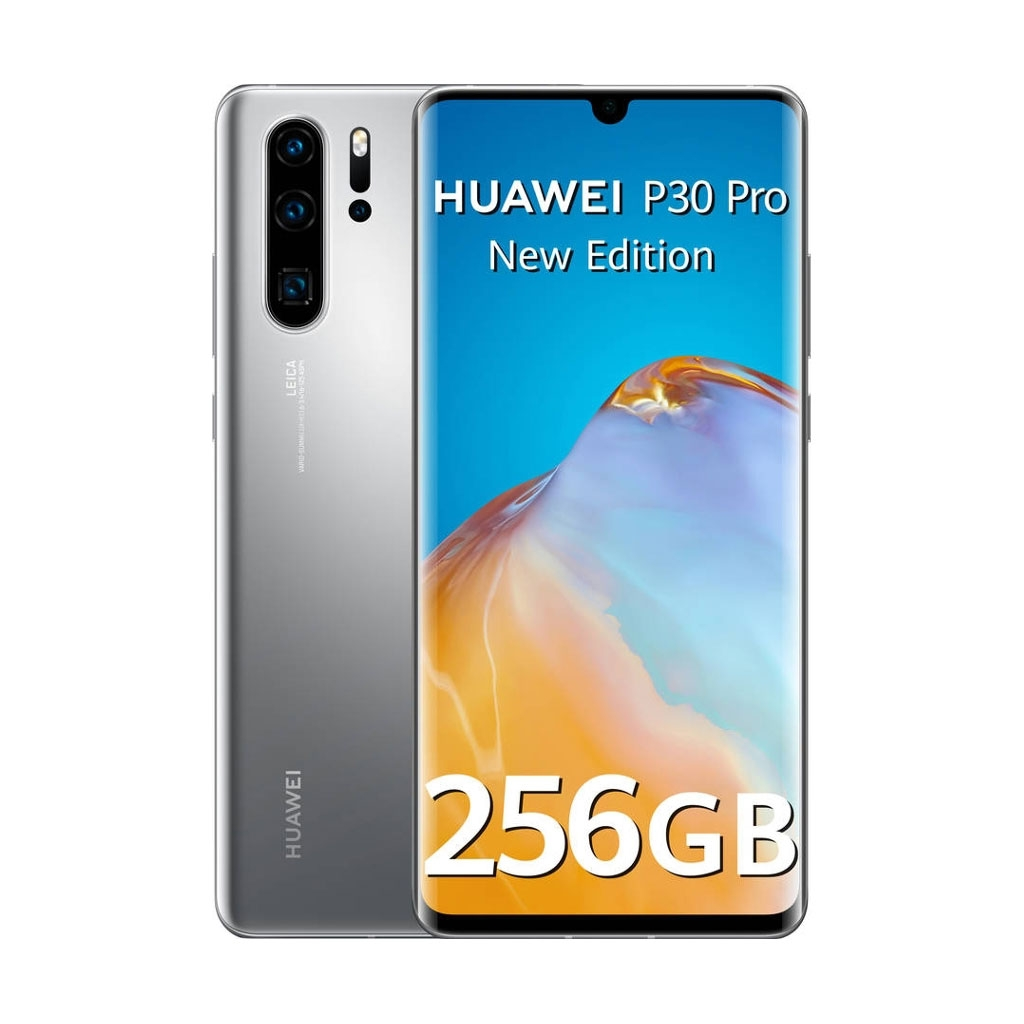 Huawei P30 Pro New Edition Dual Sim Silver Frost 256gb And 8gb Ram 6901443397242 Movertix Mobile Phones Shop